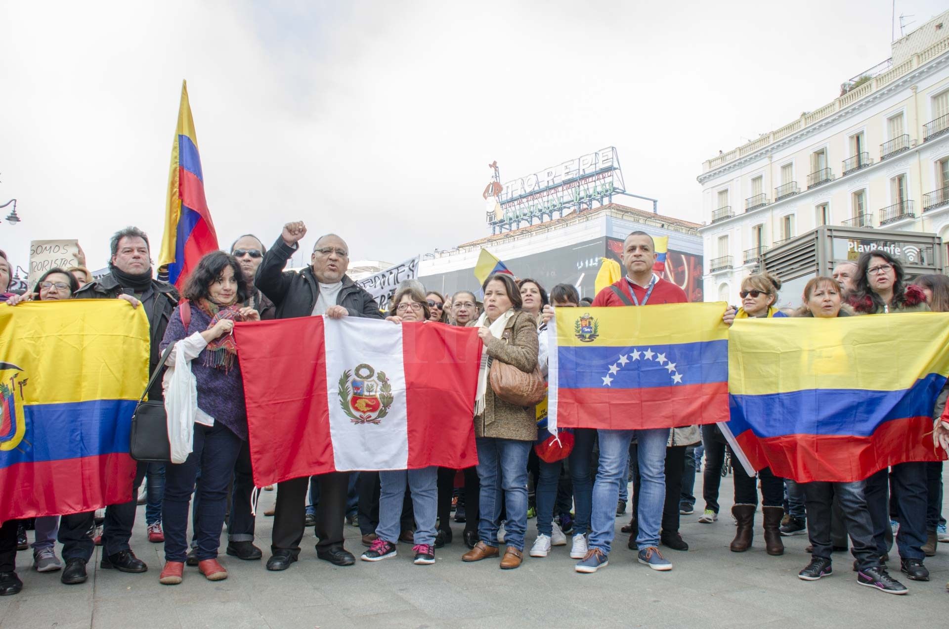 Puerta de Sol-Madrid